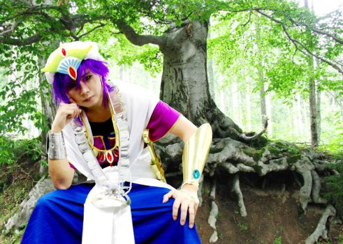 Sinbad cosplay from Magi by Clivelee