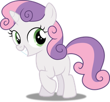 Vector #218 - Sweetie Belle #2 by DashieSparkle