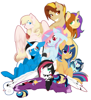 A Pile of Speedpainters by FuyusFox