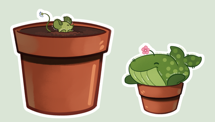 [OC] Cactipums by kaybirbee
