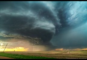 Chased Into the Plains by FramedByNature