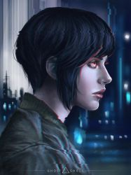 Ghost in the Shell by Dzydar