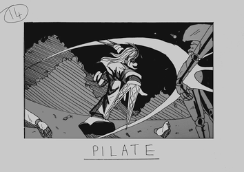 Day 14 - Pilate by Inui-Purrl
