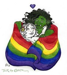 Tock is Pride by rachelillustrates