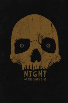 PosterVine Night of the Living Dead Poster by PosterVine