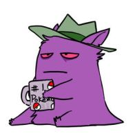 Monday Gengar by TheSilverTopHat