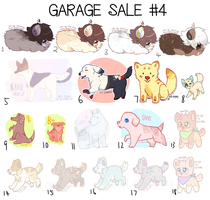 [10/18 OPEN] ADOPT GARAGE SALE 4! by Ice-Flakes