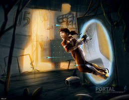 Portal - Lost Experiment by Lionheartcartoon
