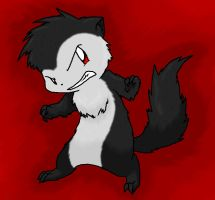 Shadow The Mongoose by Nukeleer