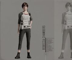 Rebecca Chambers (Vendetta Official Artwork) by efrajoey1