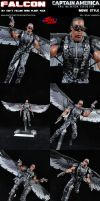 Custom Falcon (Sam Wilson) Movie Style Figure by MintConditionStudios