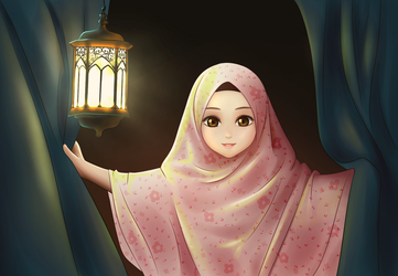 tiya in Ramadan  by Miassin