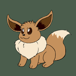 Eevee - Gift Art by Sloth-Power