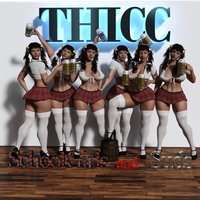 Thicc Schoolgirls And Suds by refsocrd1