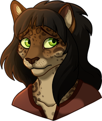 Anput Bust 1 - Commission by Kingfisher-Gryphon