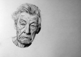 Sir Ian McKellen by Aline96