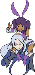 Sasaxia and Ysayle by shsl-ivalice
