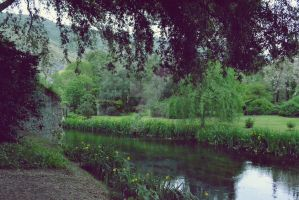 A river in the garden. by AleksandraHope