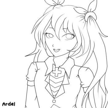 Lineart by dels10
