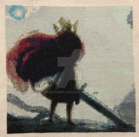 Child Of Light quilt square for child's play 2015 by samarin6