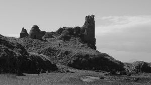 Ruins of Dunure Castle by UdoChristmann