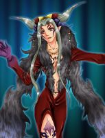 Ultimecia Dissidia by sefie-ireth