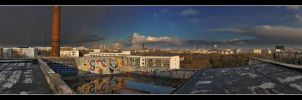Berlin Skyline Panorama by RRVISTAS