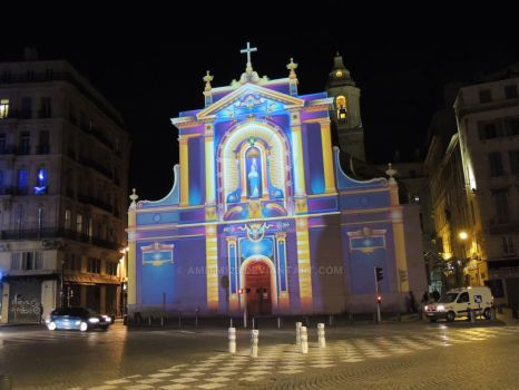 painted by projection st ferreol by amitm123