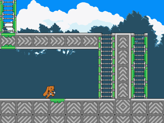 Tileset Test (Ladder Tile Test) by BLKMKT-ARCHIVE