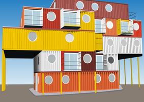 Container City by bradley-meader