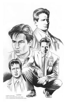 X-FILES: AGENT MULDER by LostonWallace