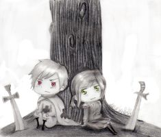 Prussia and Hungary by ParanoidNotAndroid