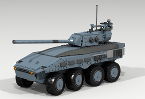 I-16D 'Clydesdale' IFV by Pegasus047