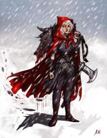 Red Riding Hood by drakonarinka