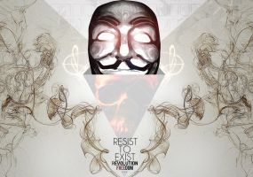 Resist to Exist by Outlawsarankan