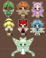 .:Fairy Adopts:. by PhantomCarnival