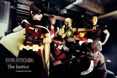 The Young Justice by KALICOSPLAY