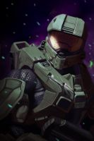 Master Chief by matthewmcentire