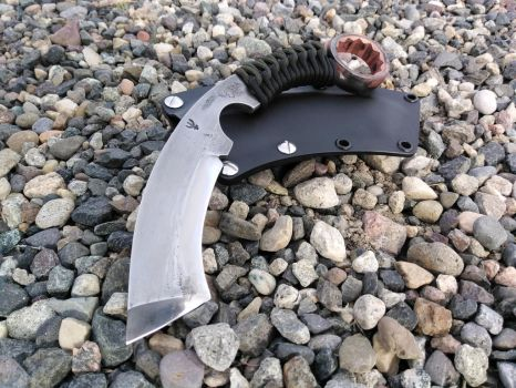 Karambit Wrench Knife Tanto by RavenStagDesign