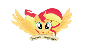 MLP the Movie .AU. Sunset Shimmer by shadcream4eva