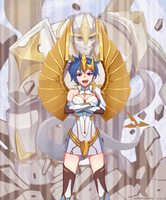 LOL_Galio remake feminization by chanseven