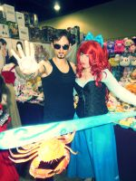Katsucon 2013--Tony Stark and Ariel! by TgIiDgUiS