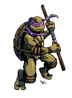 TMNT Donatello by hugohugo