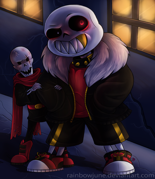 Underfell - Having a GOOD time! by RainbowJune