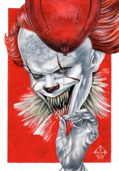 Pennywise by GrathVonGraven