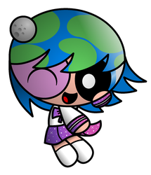 Puffed Earth-chan by TjsWorld2011