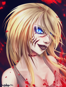 Request - Ashley the Infected by Suralya