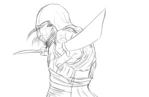edward kenway WIP by ShishiNoSeirei