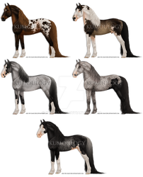 more friesian crosses [DTA OPEN] by Kumoulogy