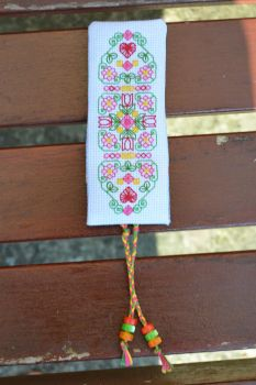 Spring Garden bookmark by eveningemma
